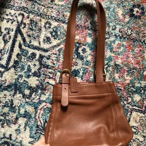 COACH Vintage Brown Genuine Leather Purse